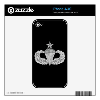 Army Senior Jump Wings Decal For The iPhone 4S