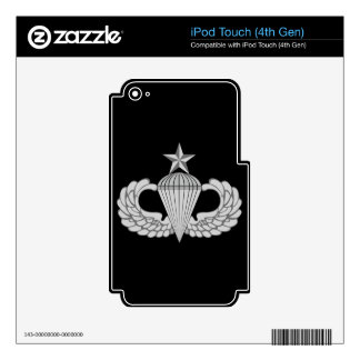 Army Senior Jump Wings iPod Touch 4G Decal