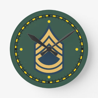 Army Sergeant First Class Clock