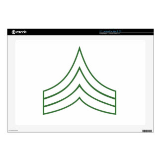 Army Sergeant Rank Insignia Laptop Decal