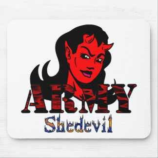 Army She-Devil Mouse Pad