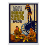 Army Signal Corps Poster