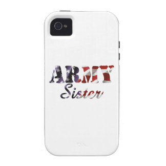 Army Sister American Flag iPhone 4/4S Covers