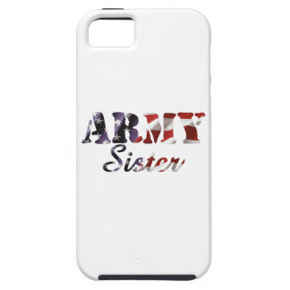 Army Sister American Flag iPhone 5 Cover