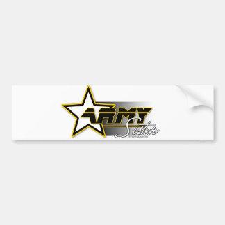 Army Sister Car Bumper Sticker
