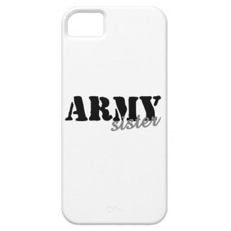 Army Sister iPhone 5 Cover
