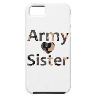 Army Sister Heart Camo iPhone 5 Cover
