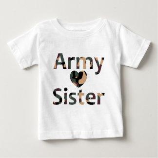 Army Sister Heart Camo Shirt