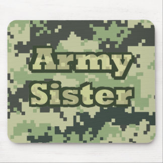Army Sister Mouse Pad