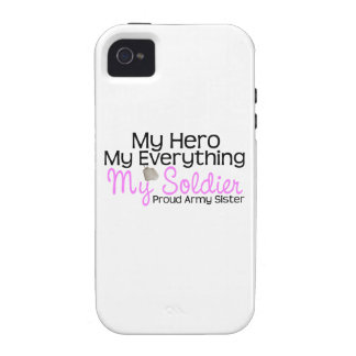 Army Sister My Hero iPhone 4 Case