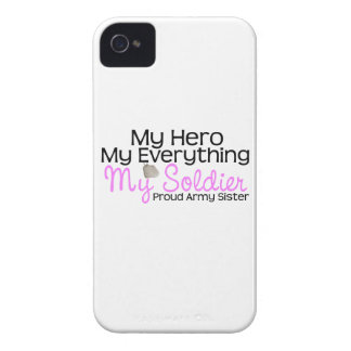 Army Sister My Hero Case-Mate iPhone 4 Case