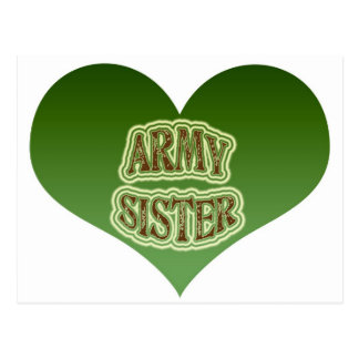 Army Sister Post Card