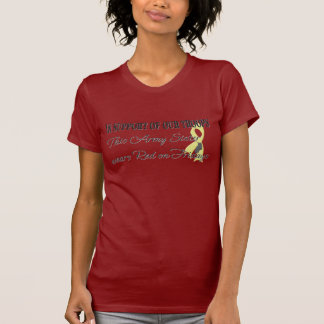Army Sister Red Friday T-Shirt