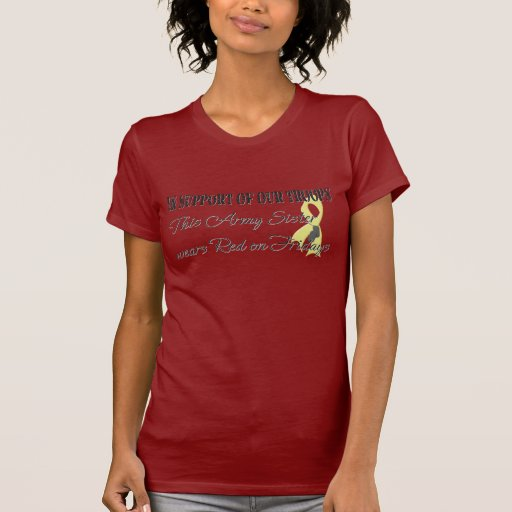 Army Sister Red Friday T-shirts