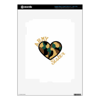 Army Sister Skins For iPad 3