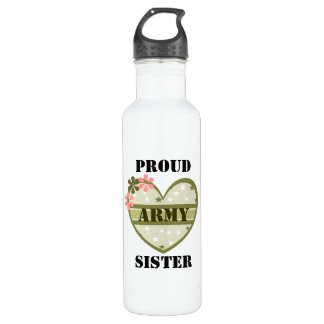ARMY SISTER STAINLESS STEEL WATER BOTTLE