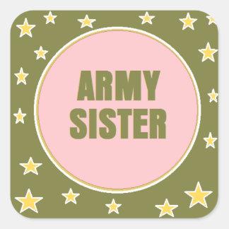 ARMY SISTER Sticker