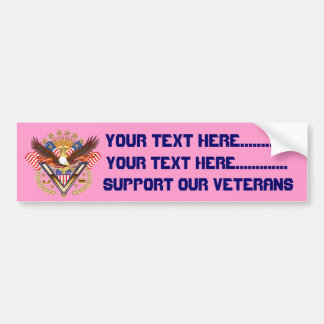 Army  Sister View notes Plse Car Bumper Sticker