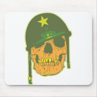 Army Skull Mouse Pad