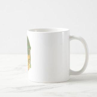 Army Skull Classic White Coffee Mug
