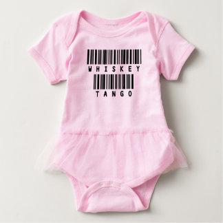 Army Slang Pink Girly Ruffle Tutu - Whiskey Tango Baby Bodysuit