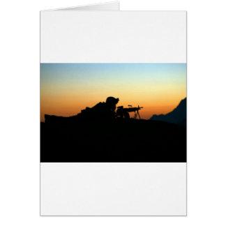 ARMY SNIPER CARD