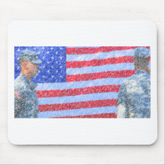 Army Soldier Mouse Pad