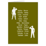 Army Soldier Phonetic Alphabet Rookie Military Job