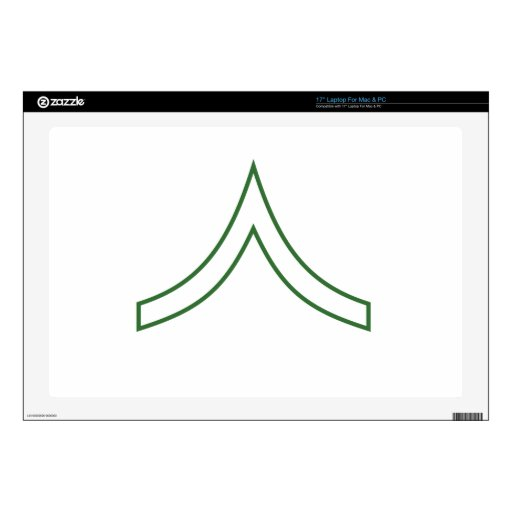 Army Soldier Rank Insignia Skins For Laptops