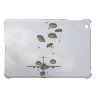 Army Soldiers jump out of a C-17 Globemaster II Cover For The iPad Mini