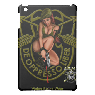 Army Special Forces Green Beret Pin Up Girl Cover For The iPad Mini