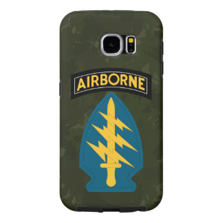 "Army Special Forces ""Green Berets"" Army Green Camo Samsung Galaxy S6 Cases"