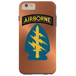 """Army Special Forces """"Green Berets"""" Tough iPhone 6 Plus Case"""