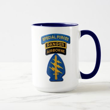 Army Special Forces Green Berets Rangers Vets Mug