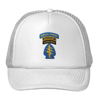 Army Special Forces Green Berets SF SOF veterans Trucker Hat