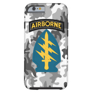 """Army Special Forces """"Green Berets"""" Urban Camo Tough iPhone 6 Case"""