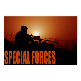 Army Special Forces Poster