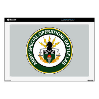 """Army Special Operations Battle Lab 17"""" Laptop Decal"""