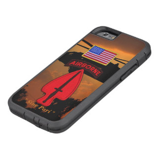 Army Special ops USASOC Veterans Vets Patch Tough Xtreme iPhone 6 Case