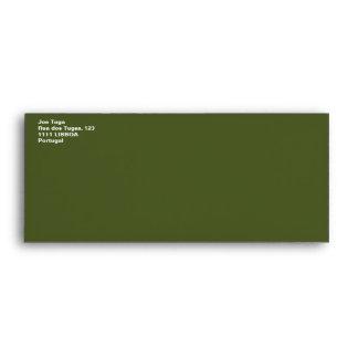Army Star Envelope