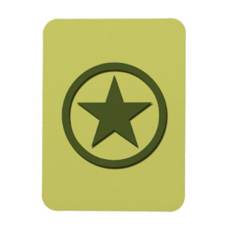 Army Star Magnet