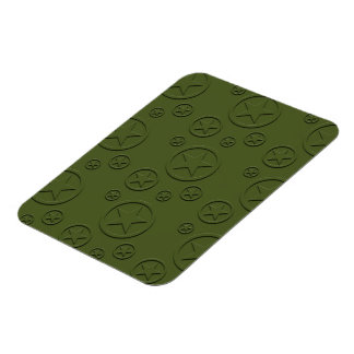 Army Star pattern Magnet