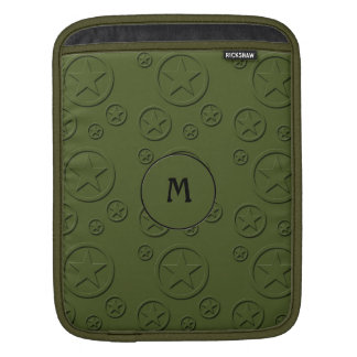 Army Star pattern Sleeve For iPads