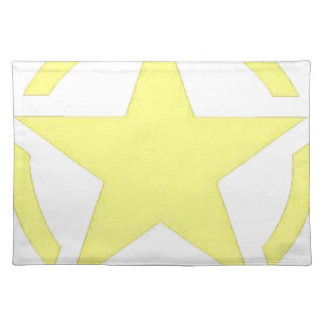 army star placemat