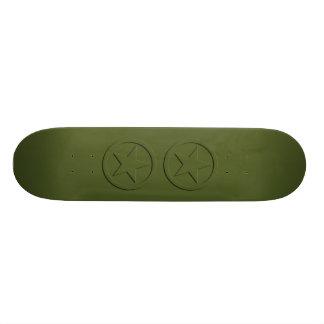 Army Star Skate Deck