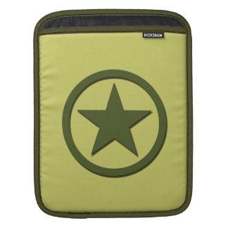 Army Star Sleeve For iPads