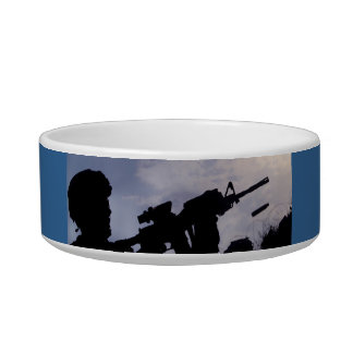 ARMY STRONG CAT BOWLS