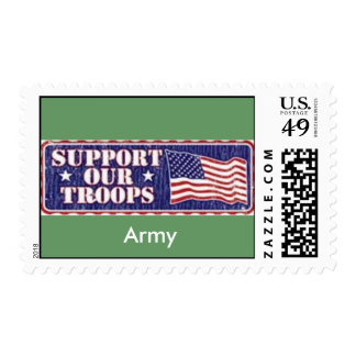 Army 'Support Our Troops' Postage