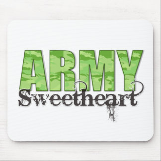 Army Sweetheart Mouse Pad