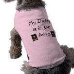 Army T-shirt Pet Tee Shirt